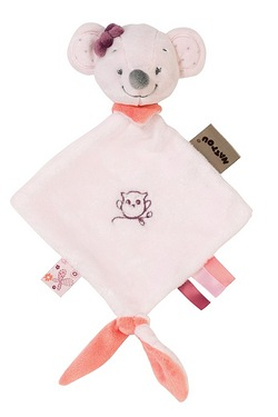 Nattou Mini Doudou Valentine the Mouse Comforter