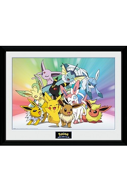 Pokemon Eevee Collectors Print