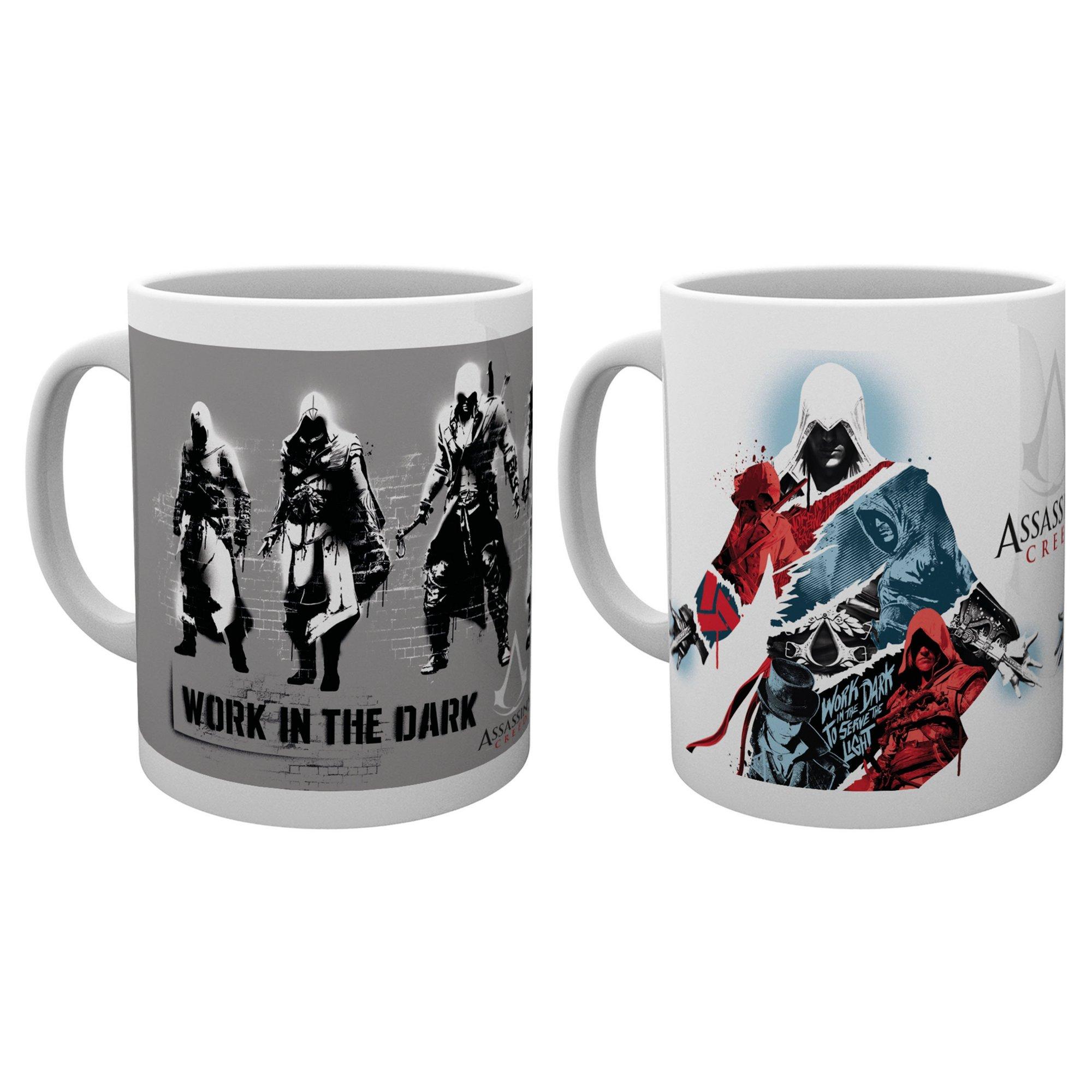 Image of Assassins Creed Mug - Twin Pack