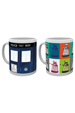 Doctor Who Mug - Twin Pack