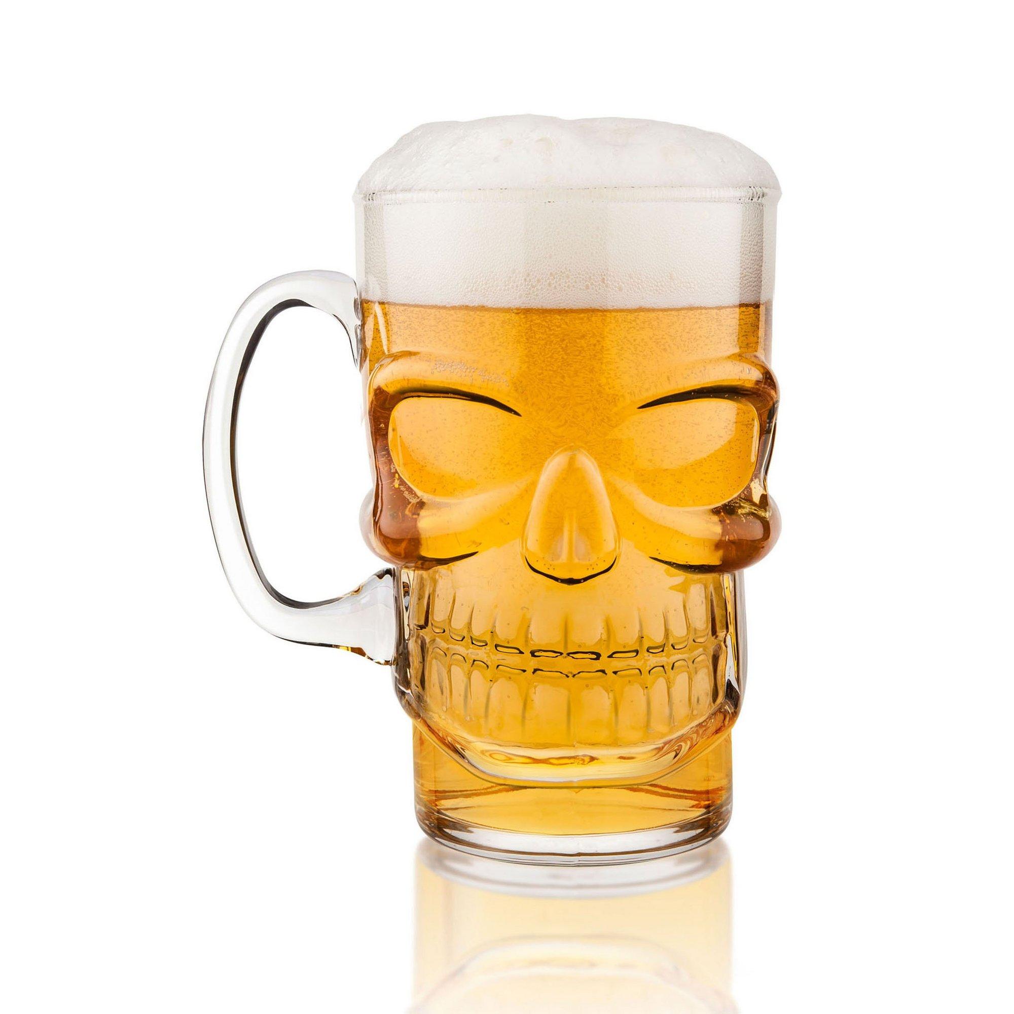 Image of Final Touch Skull Beer Mug