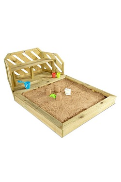 Plum Premium Wooden Sand Pit and Bench