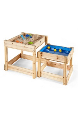 Plum Sandy Bay Wooden Sand Pit and Water Table