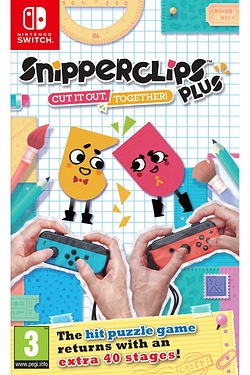 Nintendo Switch: Snipperclips Plus