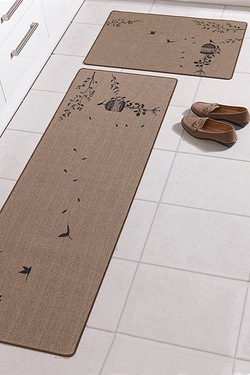 large kitchen big trendmakers slip entrance mats hall non black duty extra rubber and mat edged utility grey barrier dp rug heavy runner