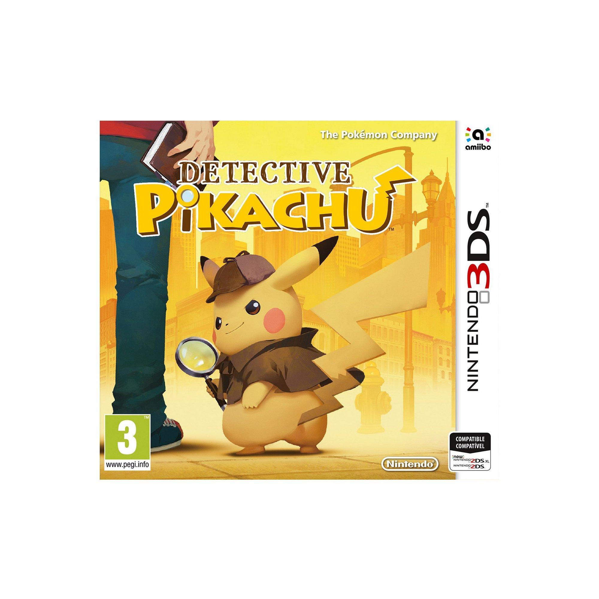 Image of Nintendo 3DS: Detective Pikachu