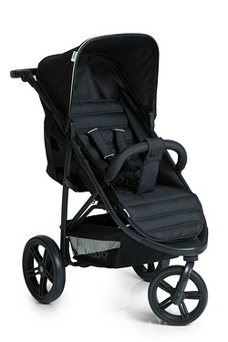 Hauck Rapid 3 Pushchair - Caviar/Black