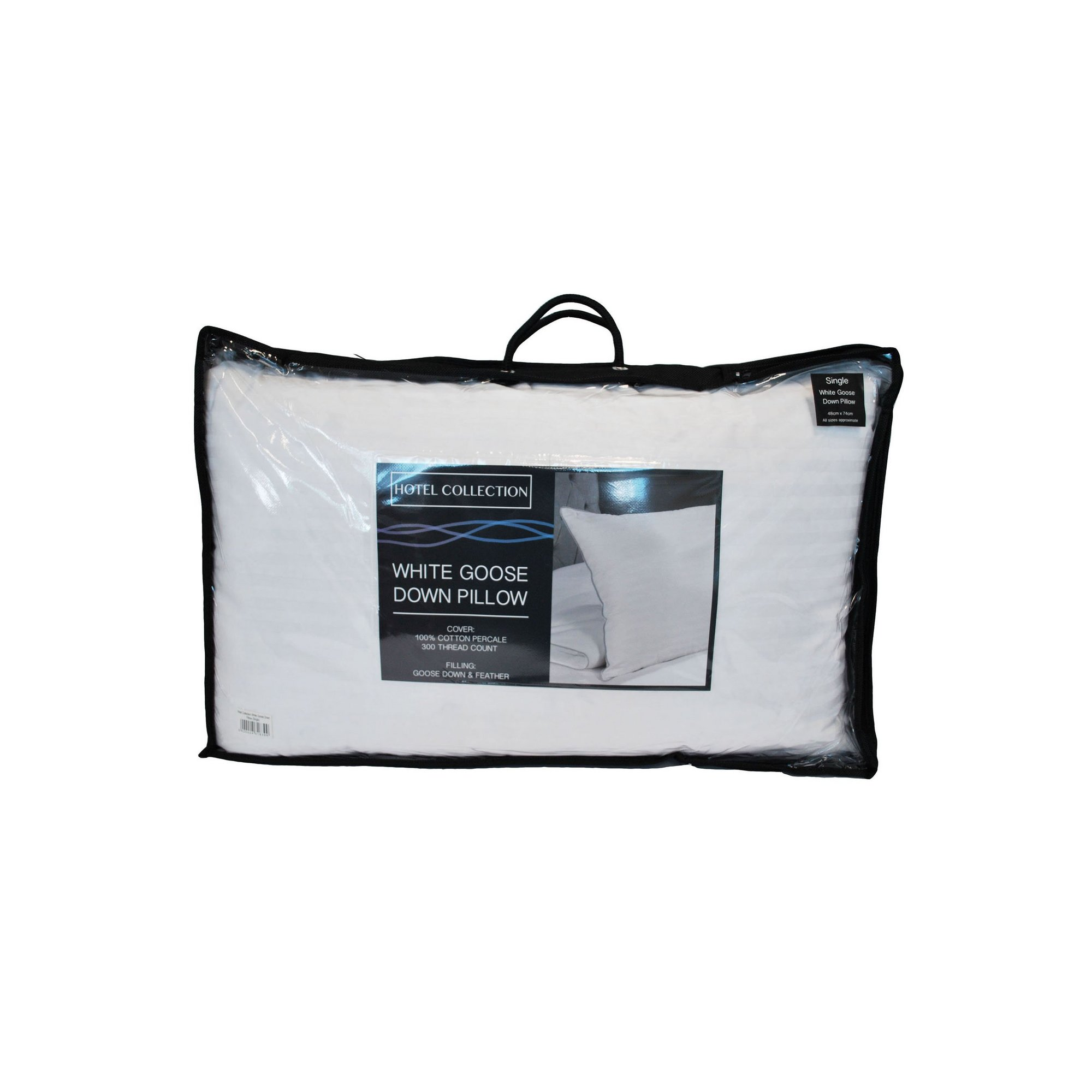 Image of Hotel Collection 5 Star Luxury Goose Feather and Down Pillow