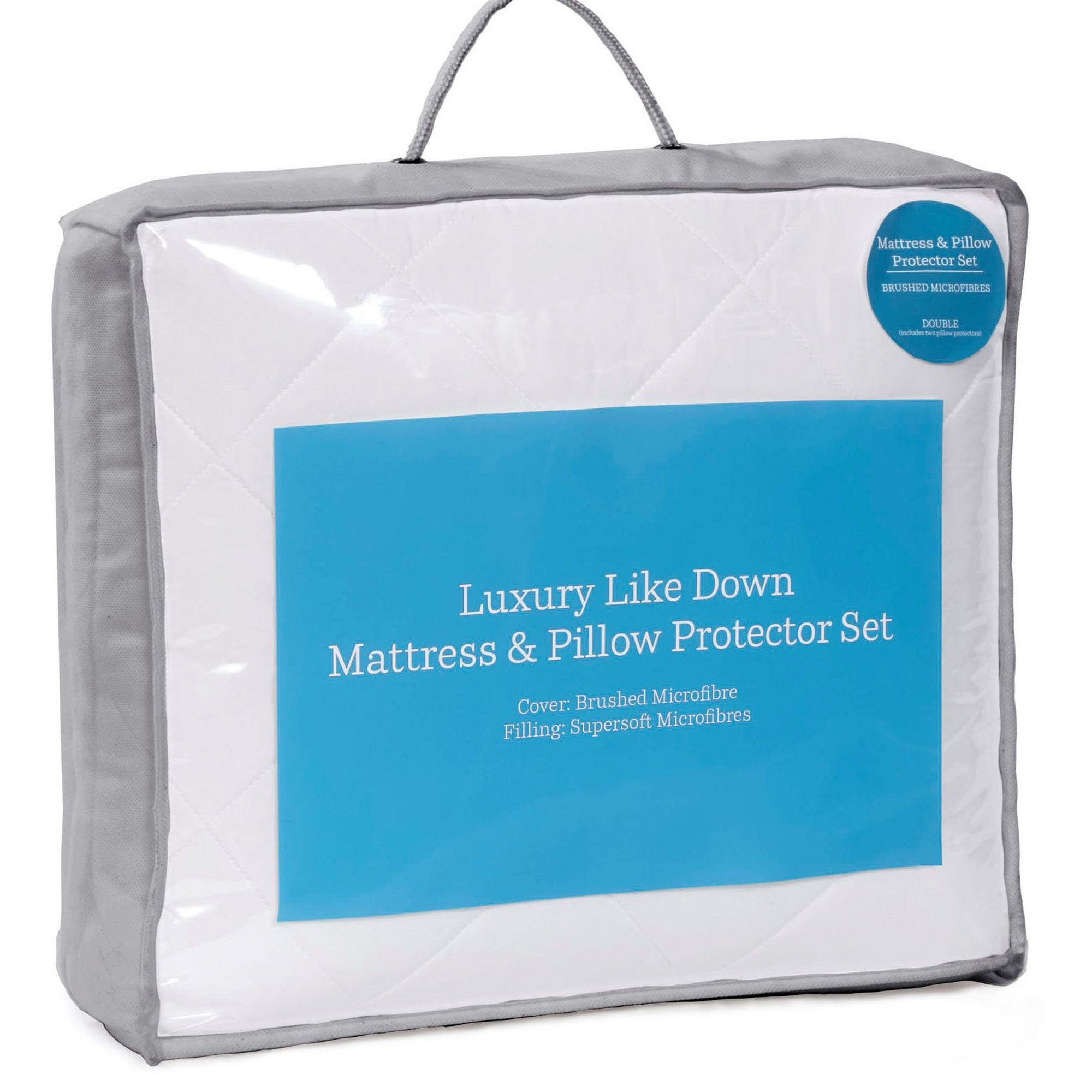 Image of Feels like Down Mattress and Pillow Protector Set