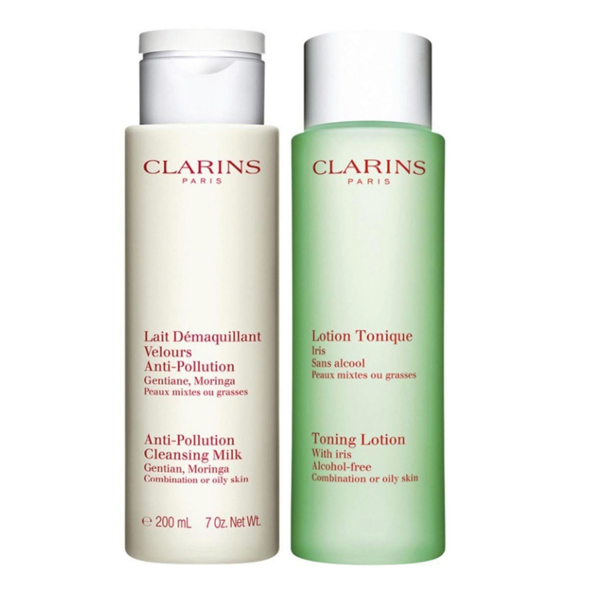 Image of Clarins Cleansing and Toning Duo Pack