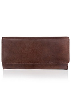 Woodland Leathers Brown Document Holder