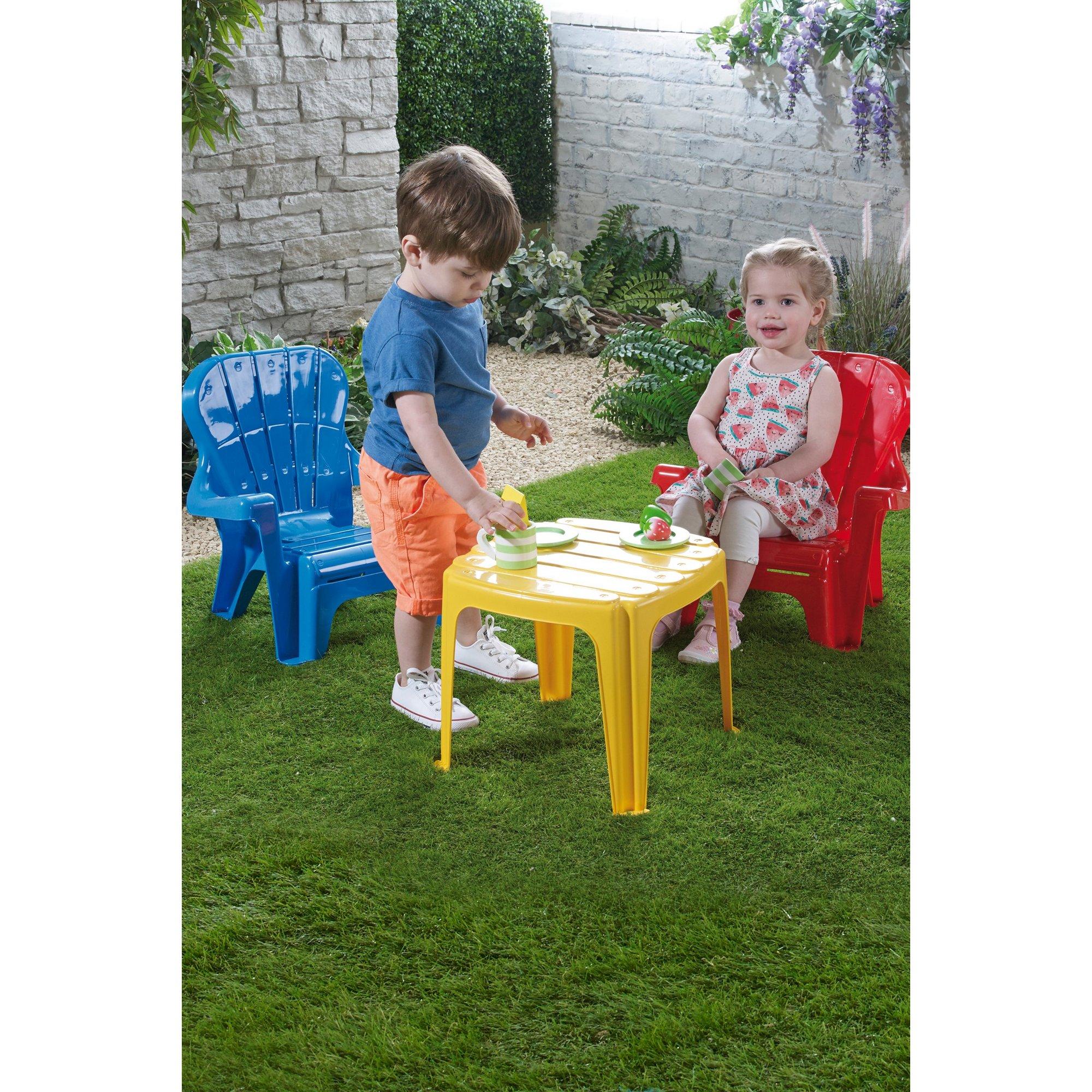 Image of Dolu Kids Plastic Furniture Set