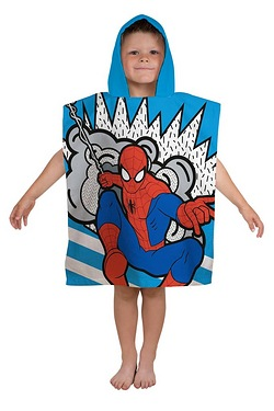 Ultimate Spiderman Abstract Poncho