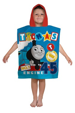 Thomas and Friends Patch Poncho