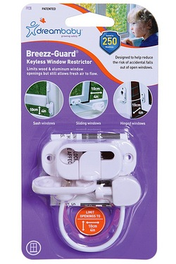 Dreambaby Breezy-Guard Keyless Window Restrictor