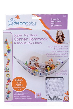 Dreambaby Corner Hammock With Bonus Toy Chain