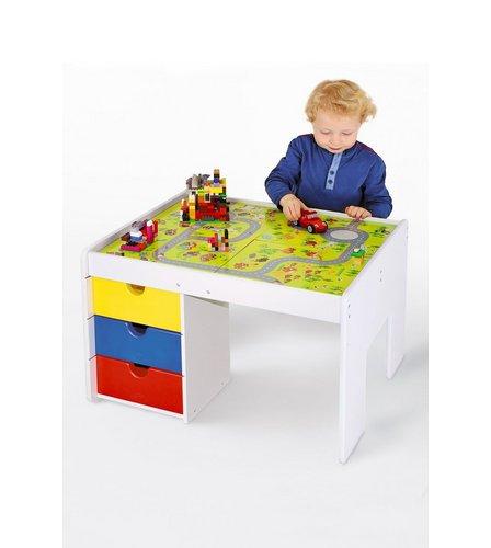Bricks Studio: Brick Building Table With Bricks