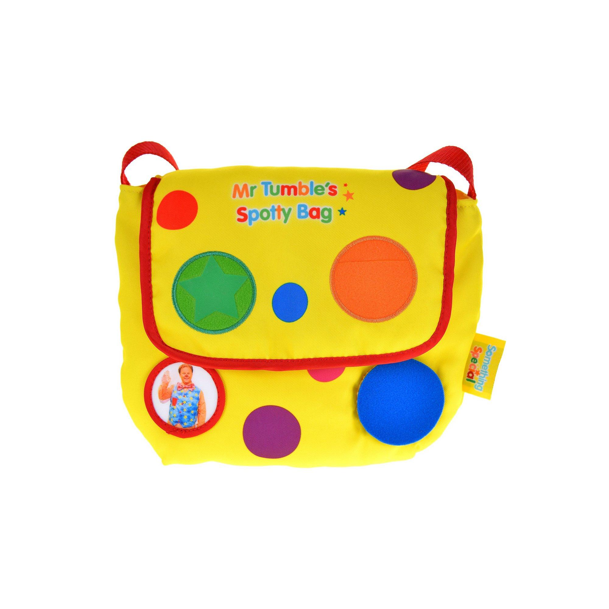 Image of Mr Tumbles Surprise Spotty Bag