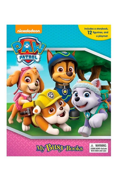Image for Paw Patrol Pink My Busy Book from studio b420795d2