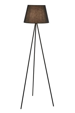 Tripod Floor Lamp with Fabric Shade