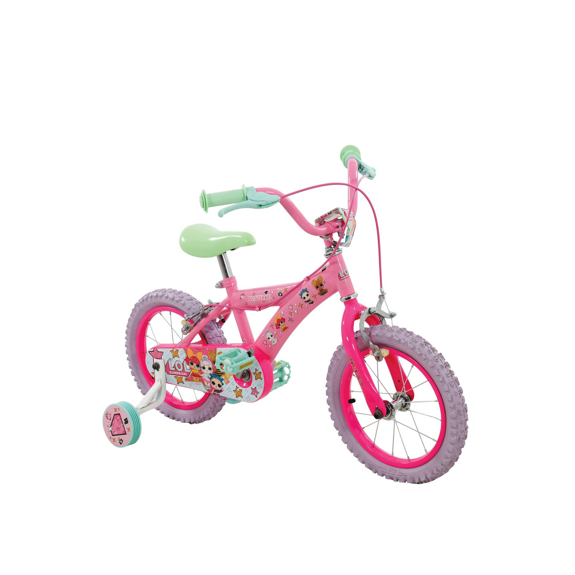 Image of Kids L.O.L Surprise! 14 Inch Bike