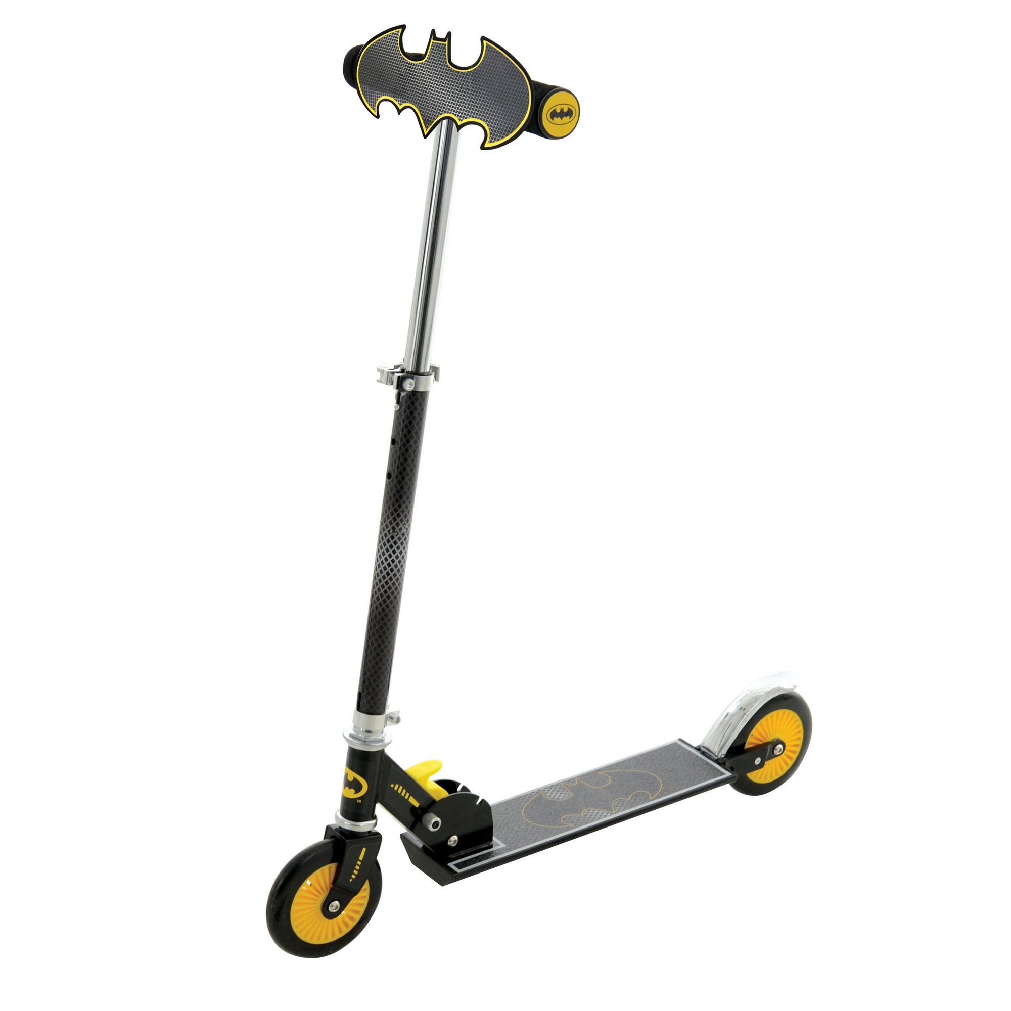 Image of Batman Folding In-line Scooter with Plaque