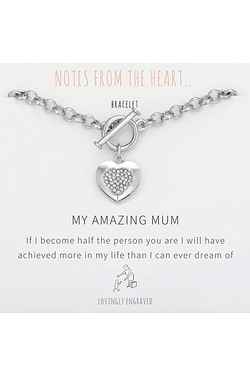 Notes From The Heart My Amazing Mum Bracelet