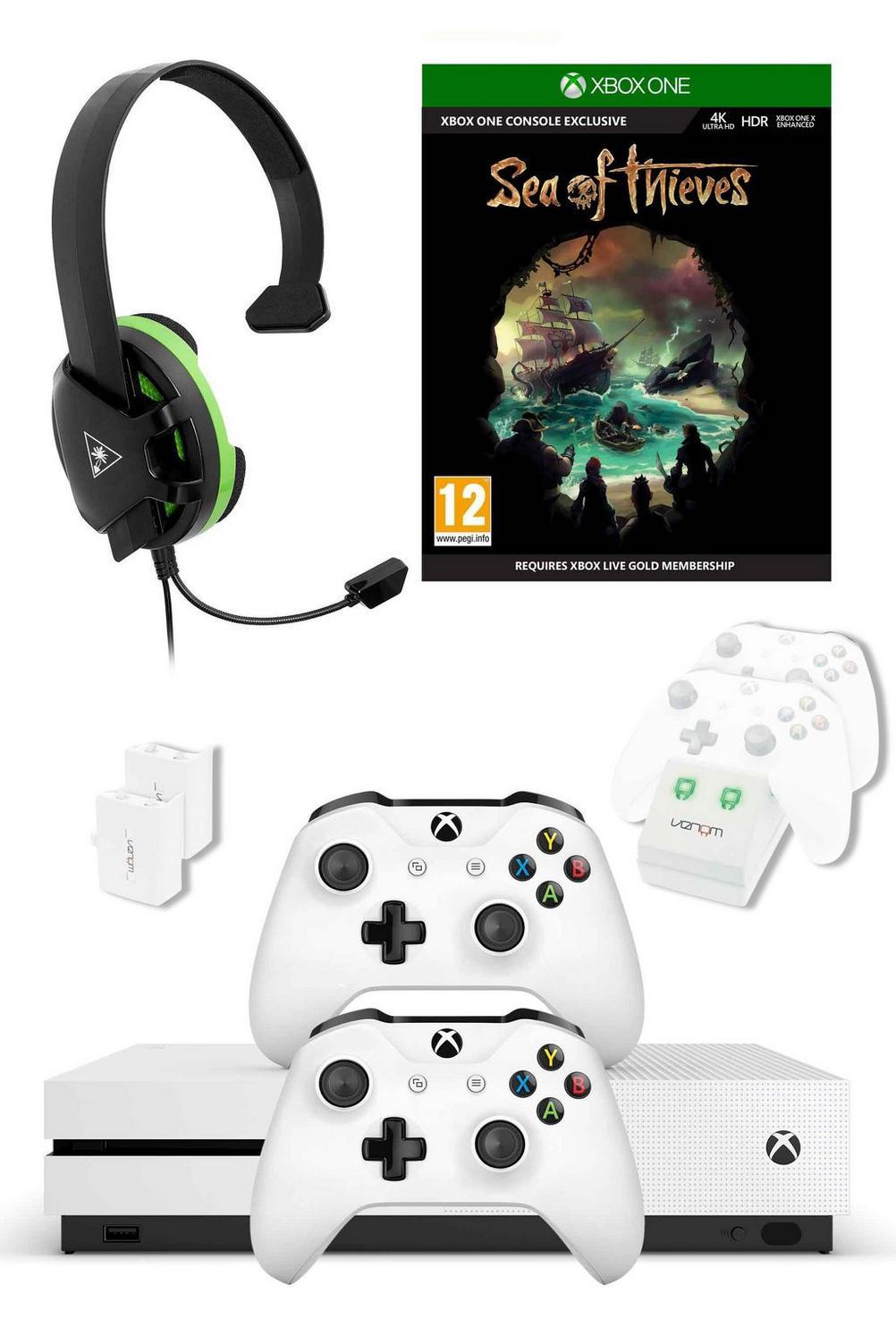 Xbox One S White 1TB Console Bundle