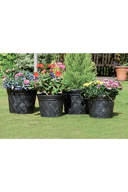Pack Of 4 Hampton Planters