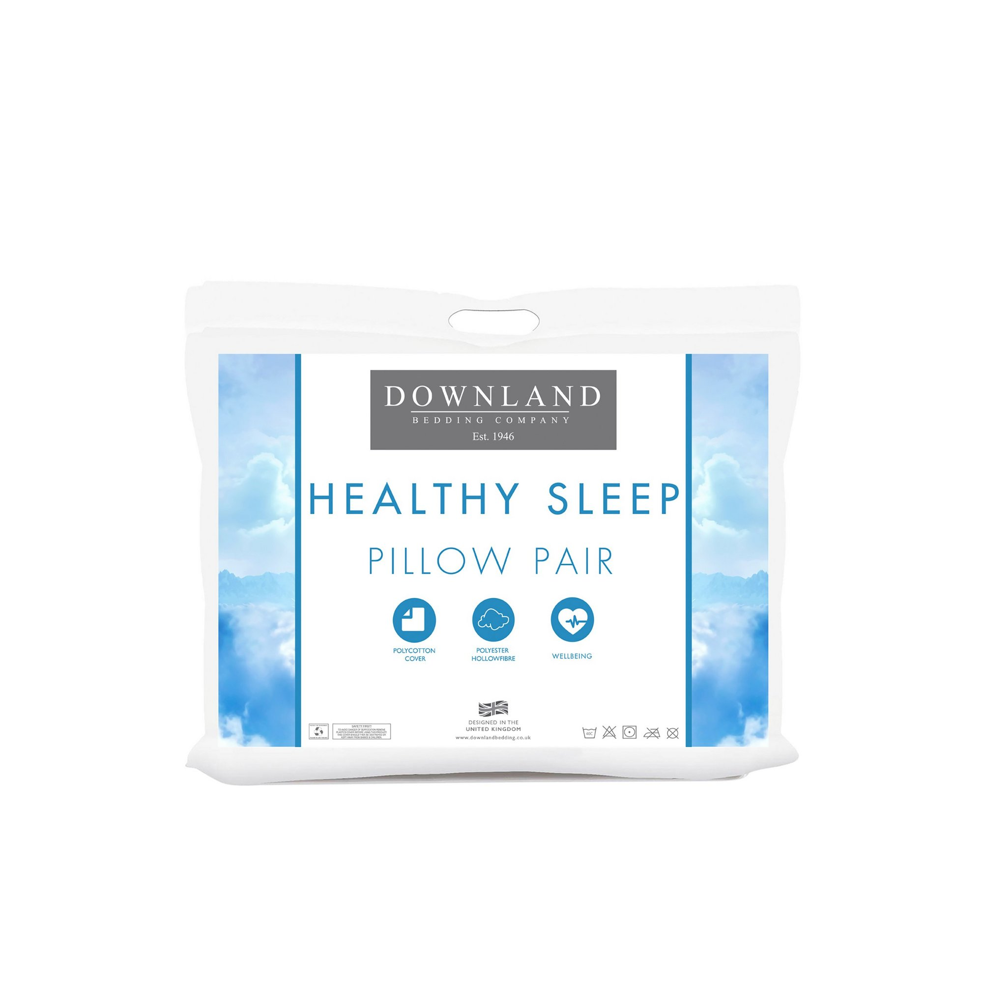 Image of Downland Healthy Sleep Pack of Pillows