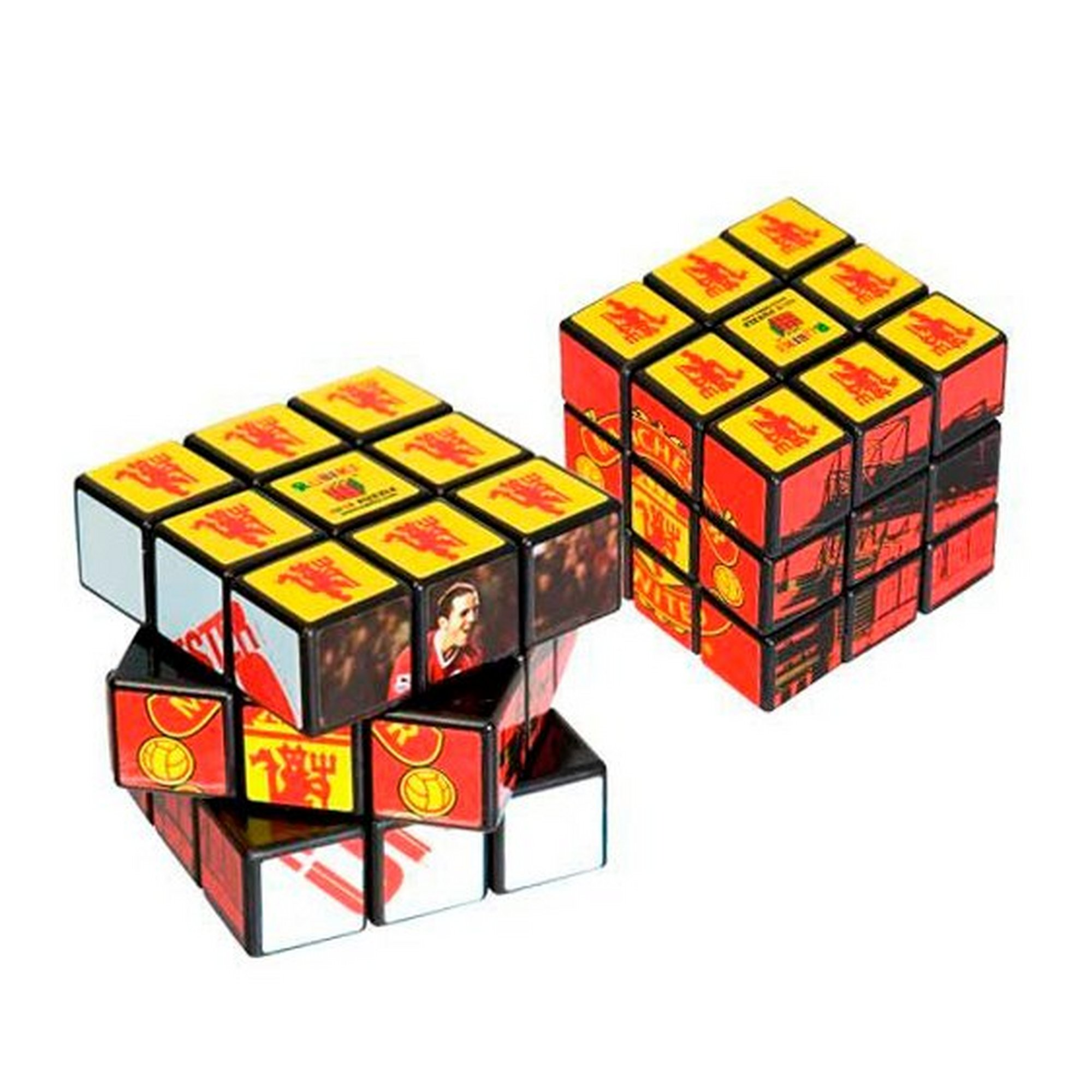 Image of Manchester United FC Rubiks Cube