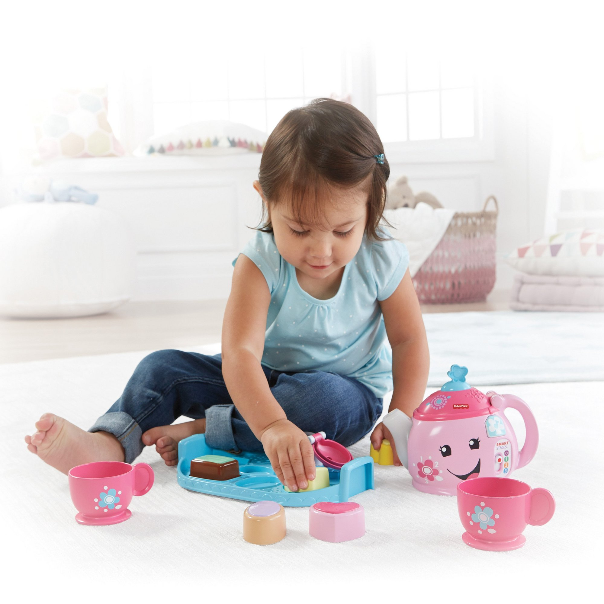 Image of Fisher Price Smart Stages Toddler Tea Set
