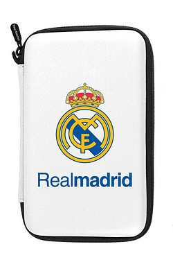 Subsonic Official Real Madrid Hard Carry Case