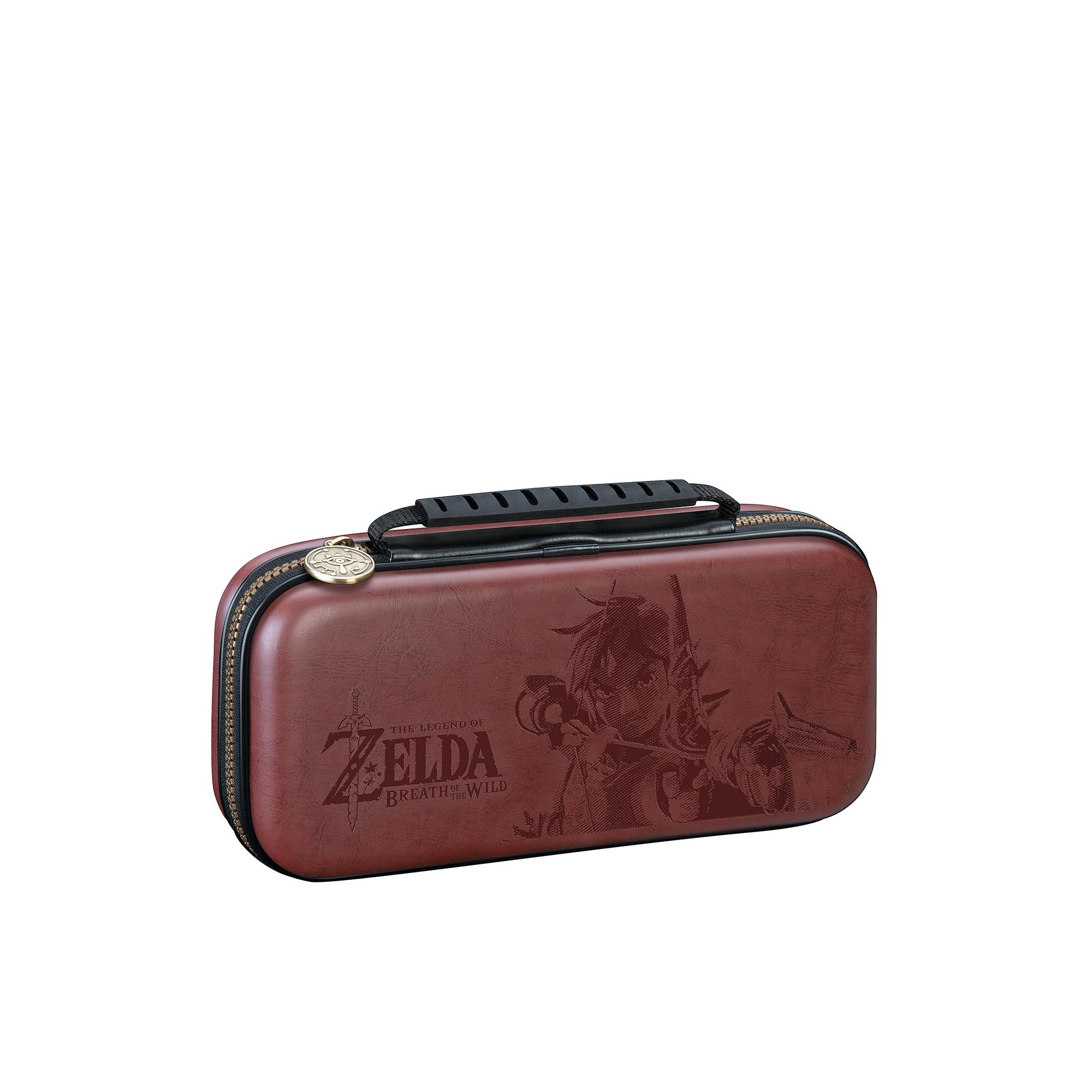 Image of Official Zelda Brown Travel Case For Nintendo Switch