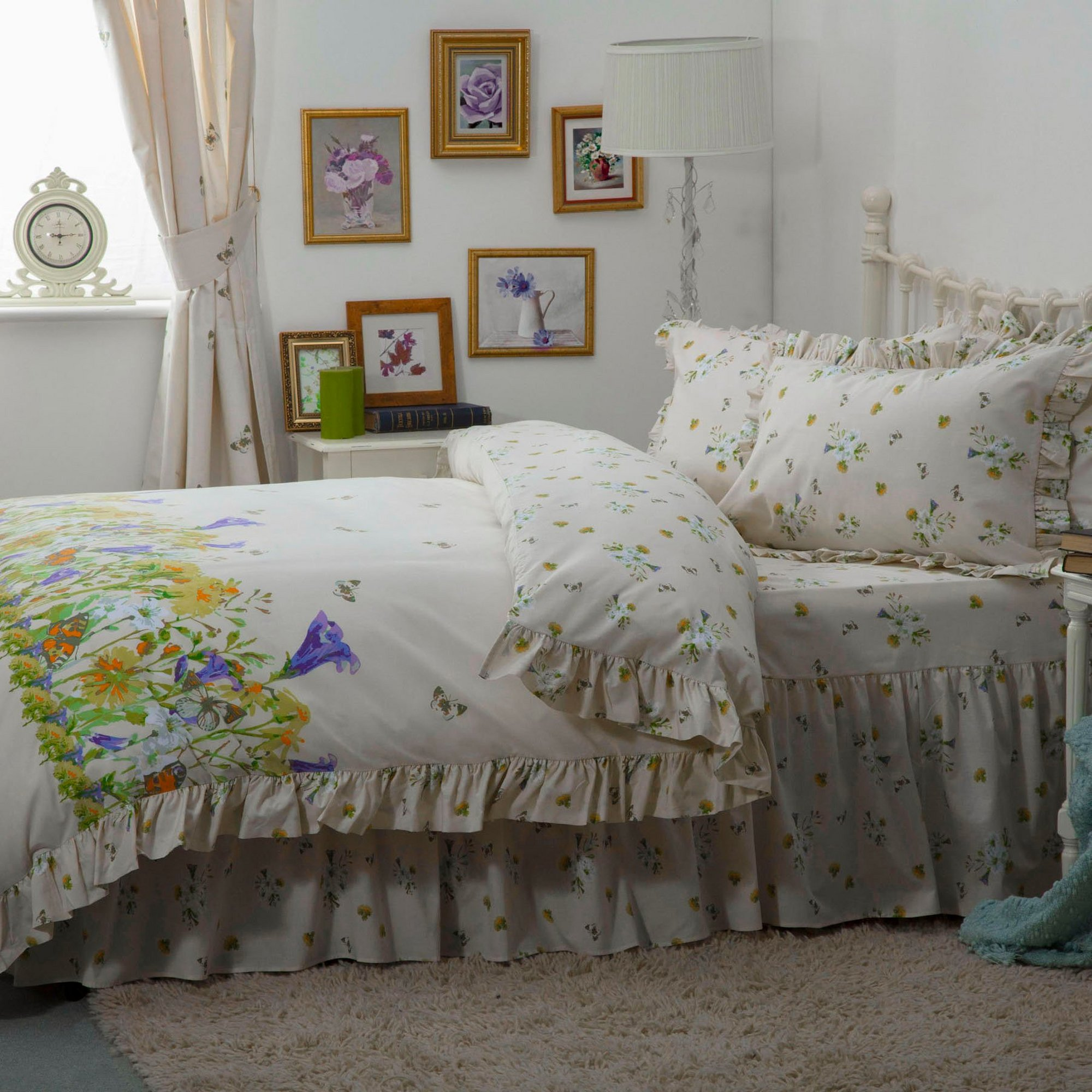 Image of Bluebell Meadow Pillowcase Pair