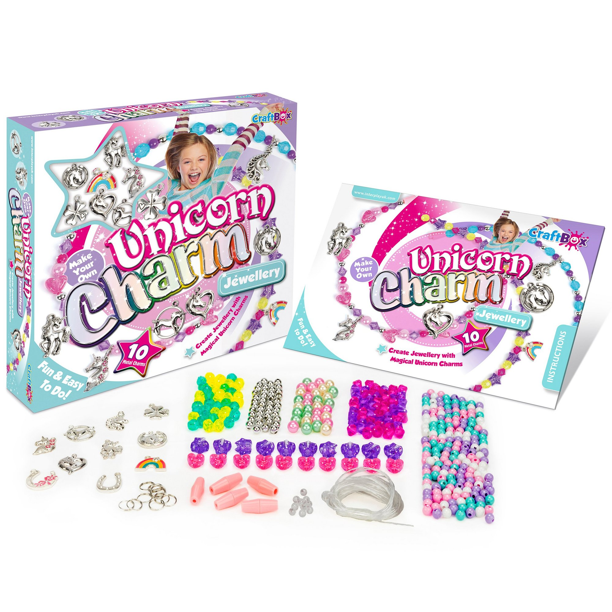 Image of Craft Box Unicorn Charm Jewellery