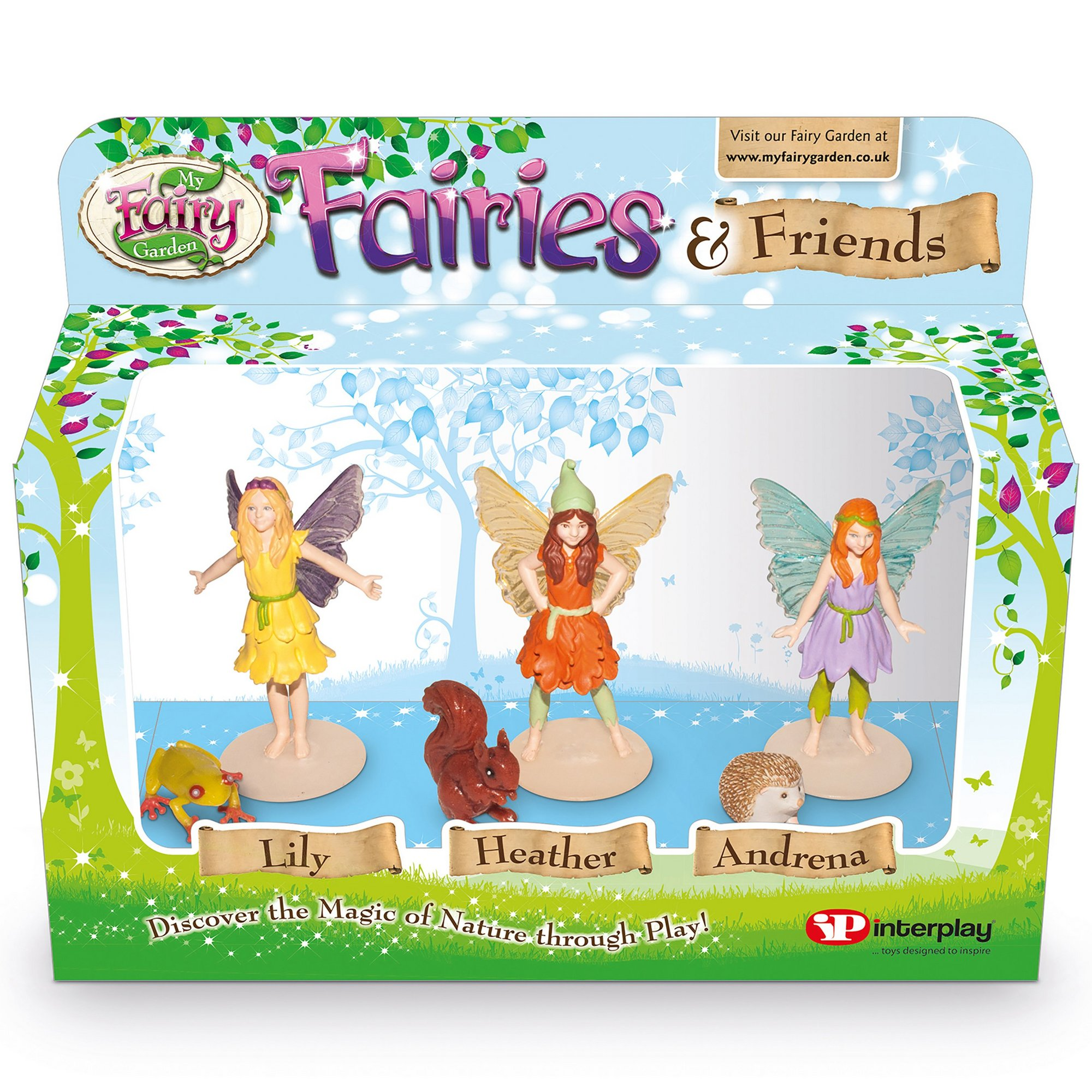 Image of My Fairy Garden Fairies and Friends