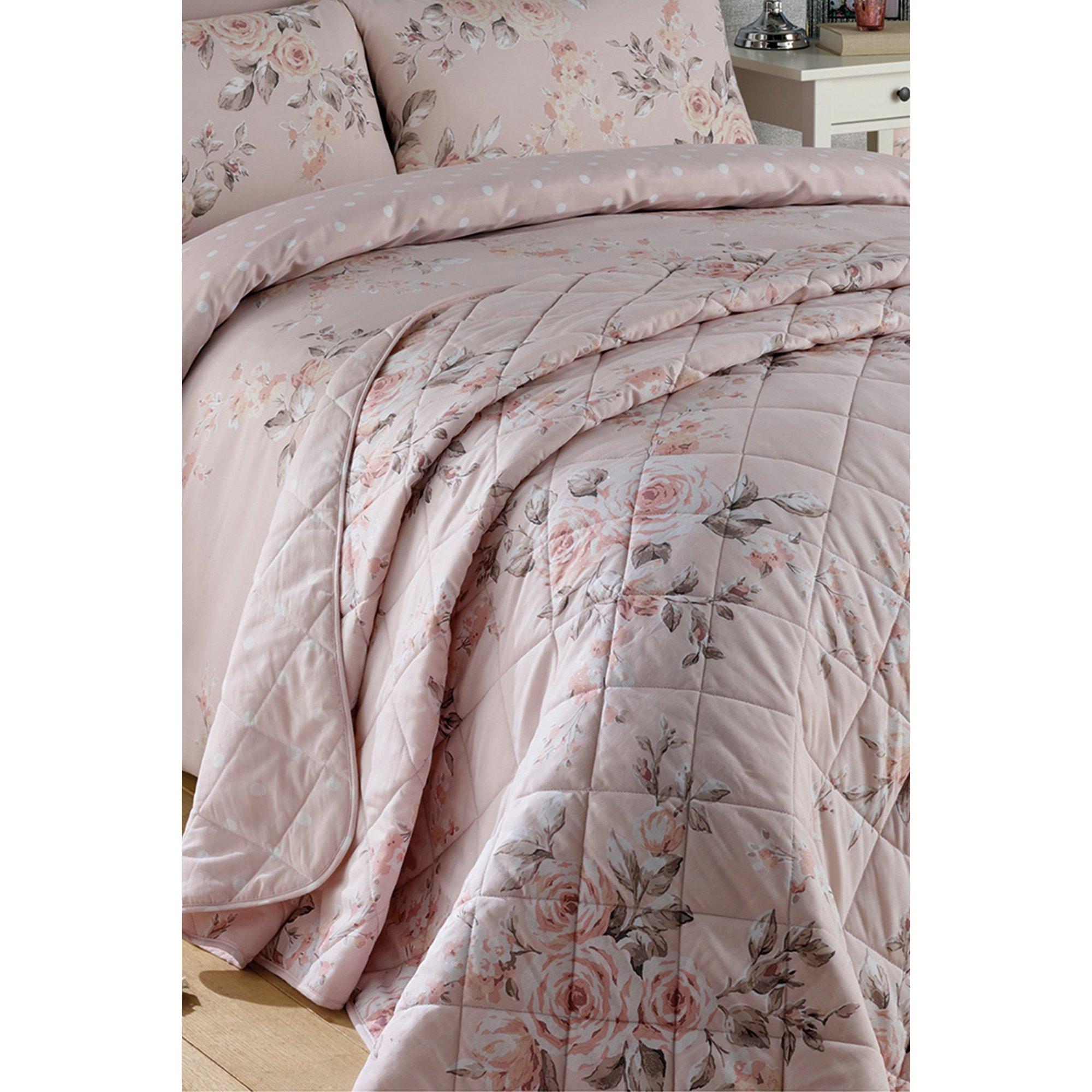 Image of Canterbury Glitzy Blush Pink Bedspread