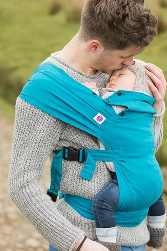 c01efec48e8 Image for Izmi Teal Baby Carrier from studio