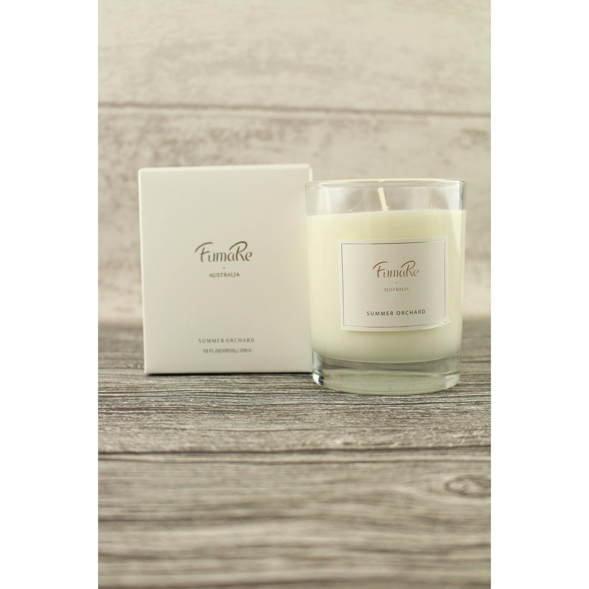 Image of Summer Orchard Glass Candle - BOGOF