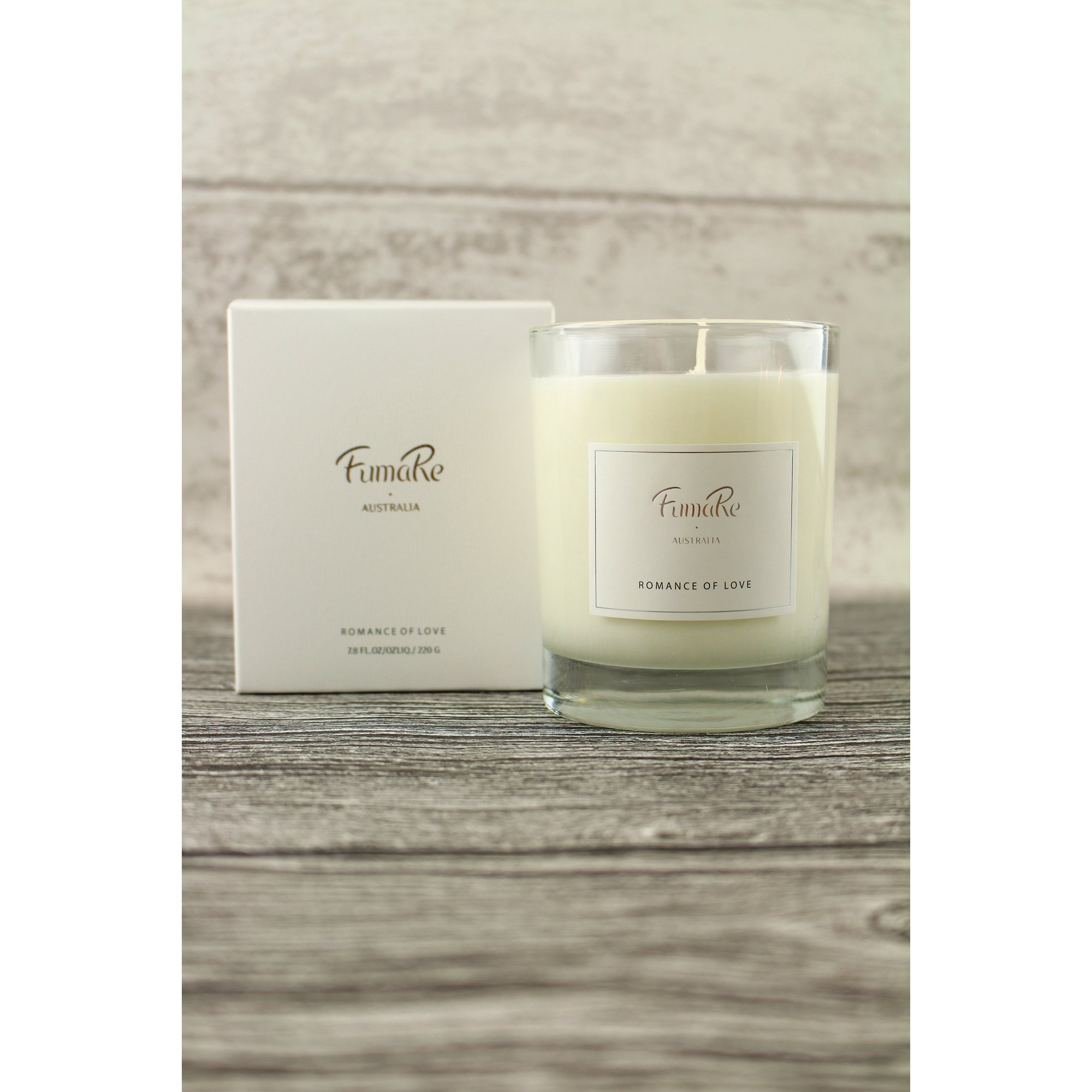 Image of Romance of Love Glass Candle - BOGOF