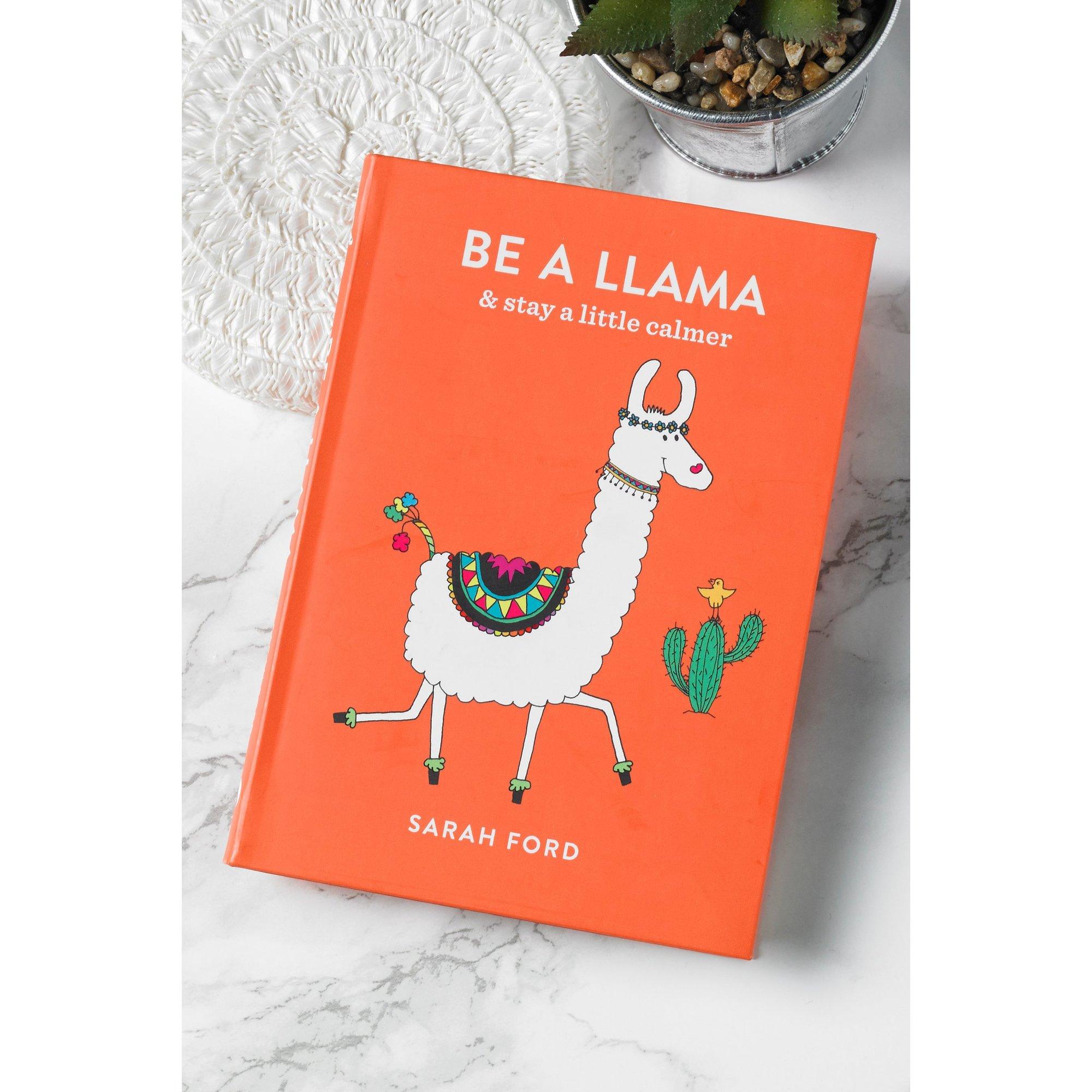 Image of Be A Llama Book