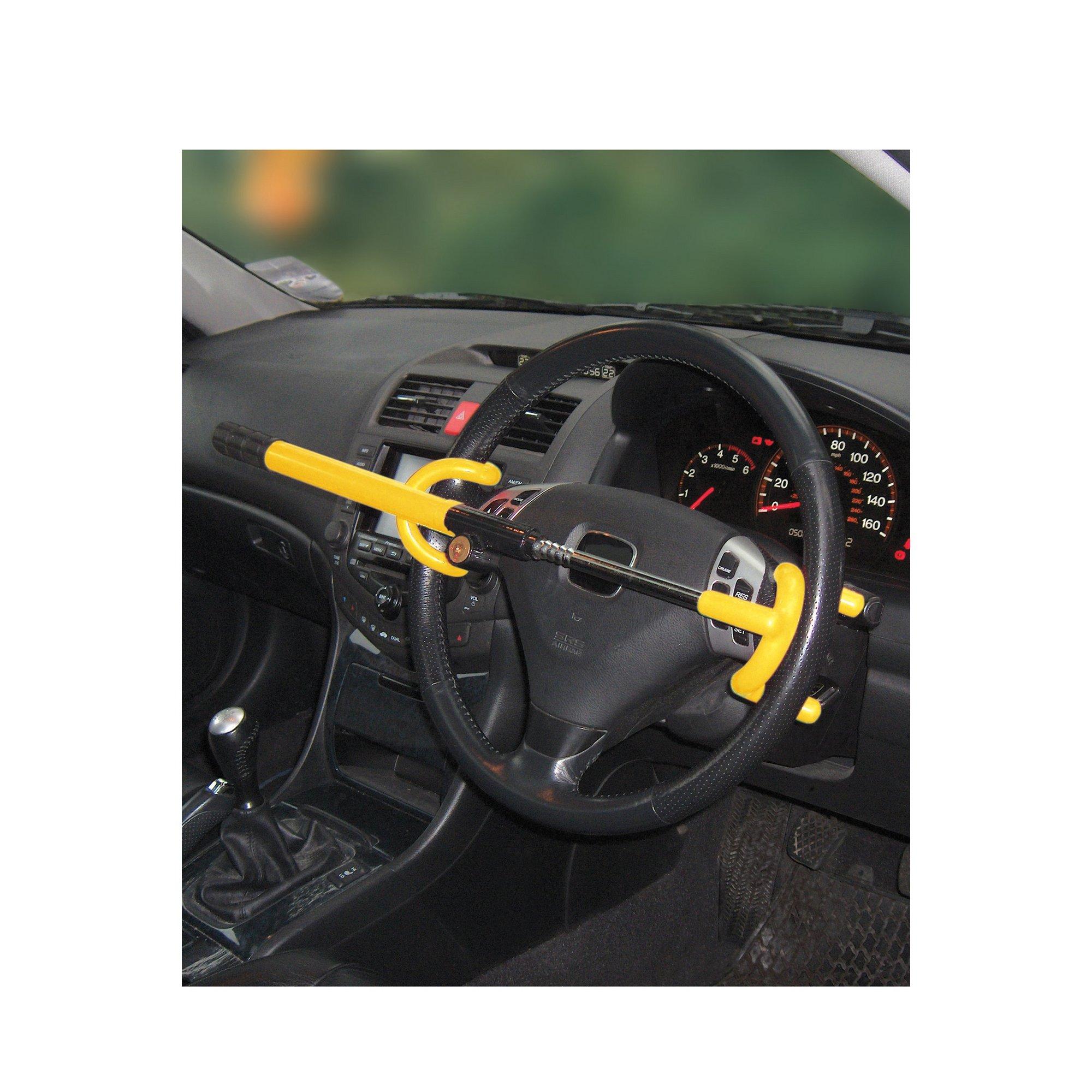 Image of Double Hook Steering Wheel Lock
