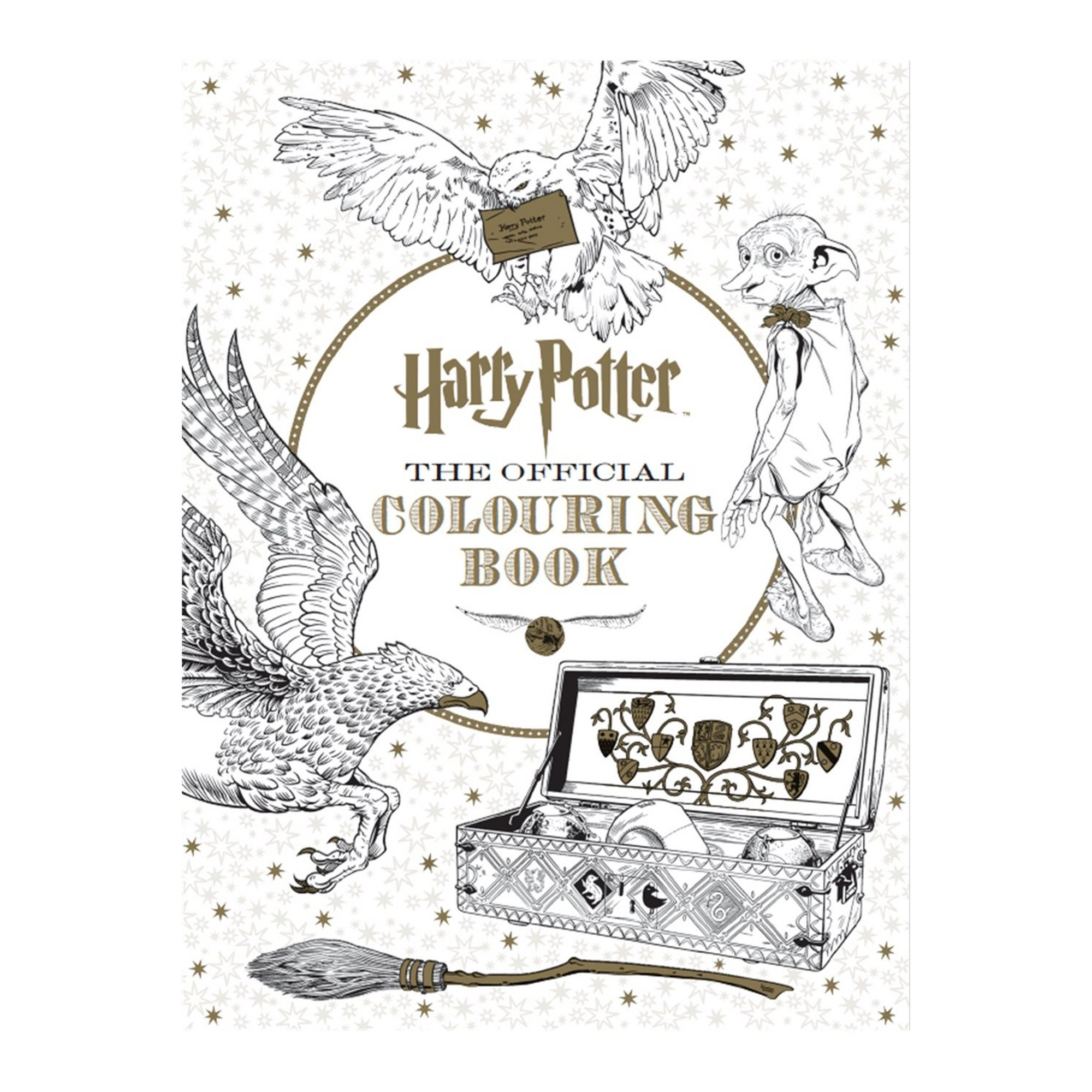 Image of Harry Potter Colouring Book