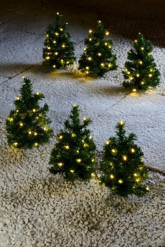 image for 6 led christmas tree path lights from studio