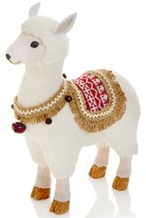 llama christmas decoration