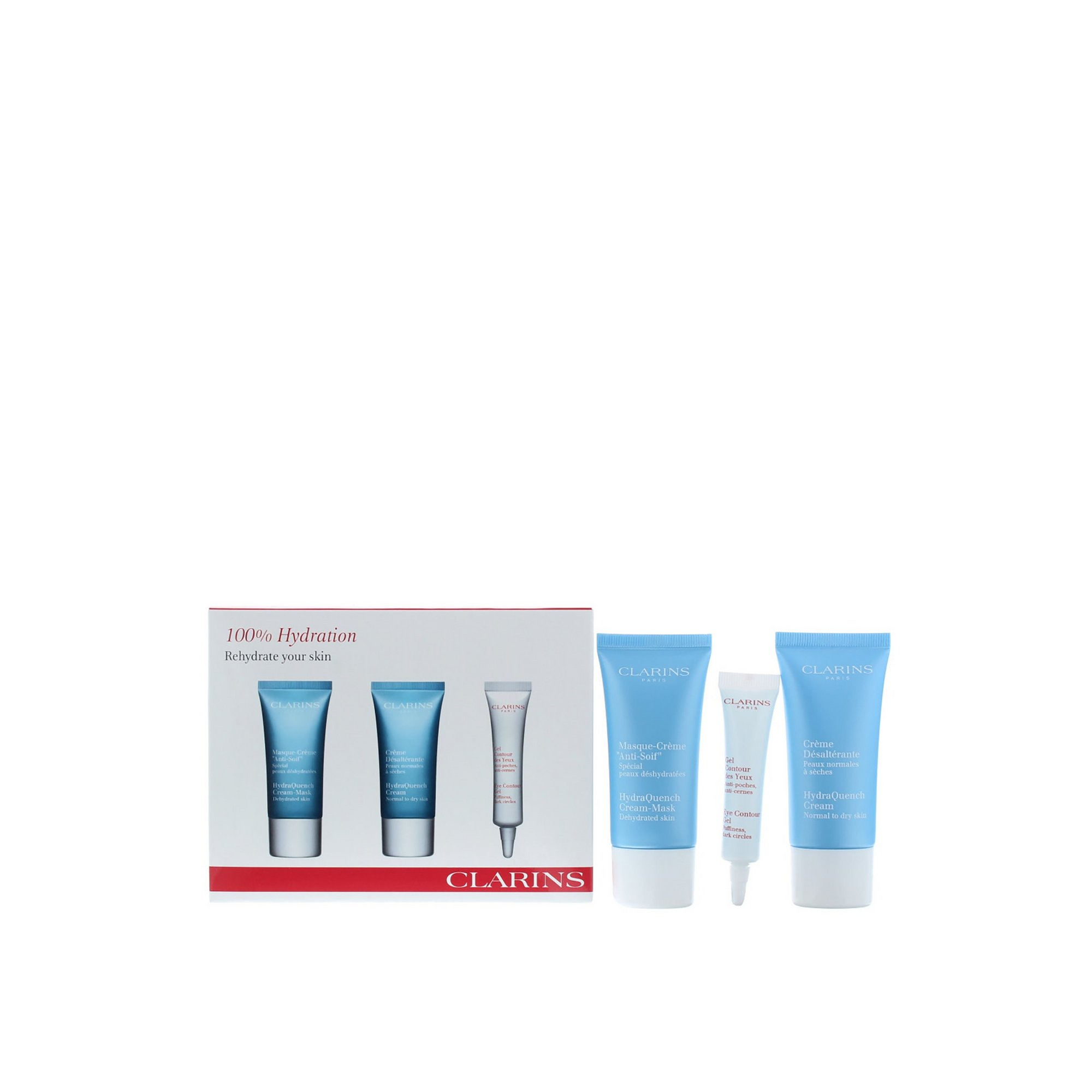 Image of Clarins HydraQuench 3-Piece Skin Care Set