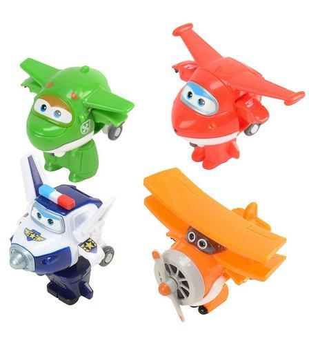 Super Wings Transform-a-Bots 4 Pack (Jett Mira Paul Grand Albert ... fa71250c4