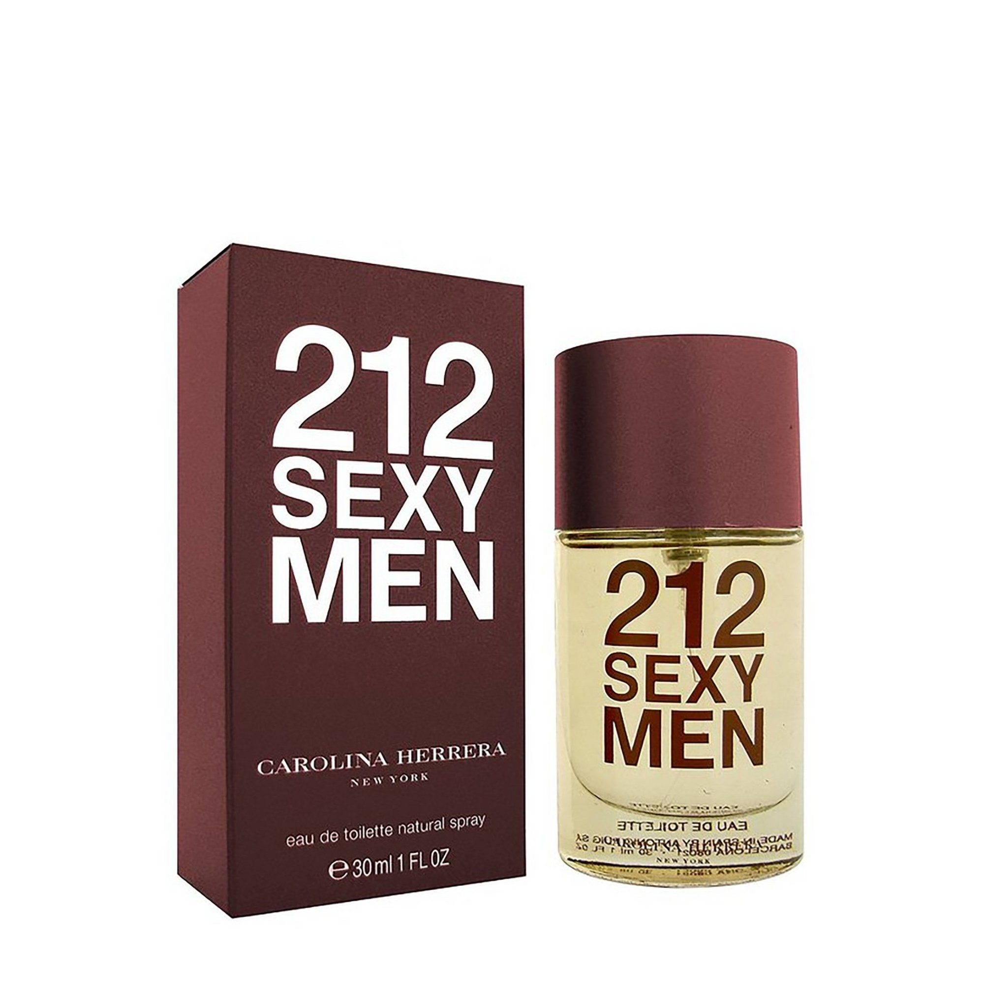 Image of Carolina Herrera 212 Sexy Men 30ml EDT
