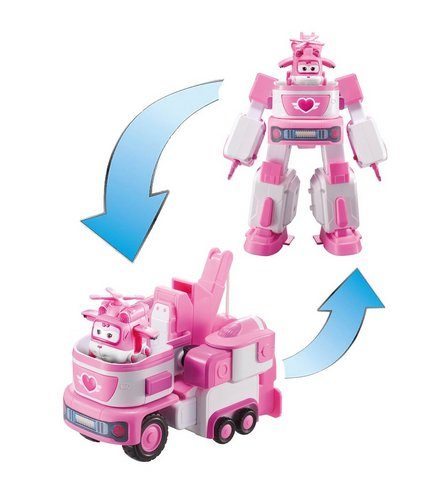 Image for Super Wings Deluxe Transforming Vehicle Dizzy from studio b24680e58